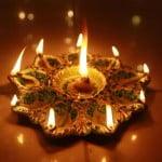 Глиняные лампы дийа