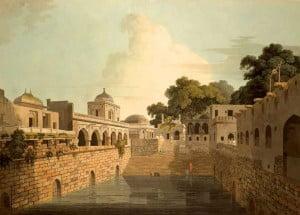 Открытый бассейн в Дели