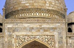 Тадж Махал, декоративные элементы