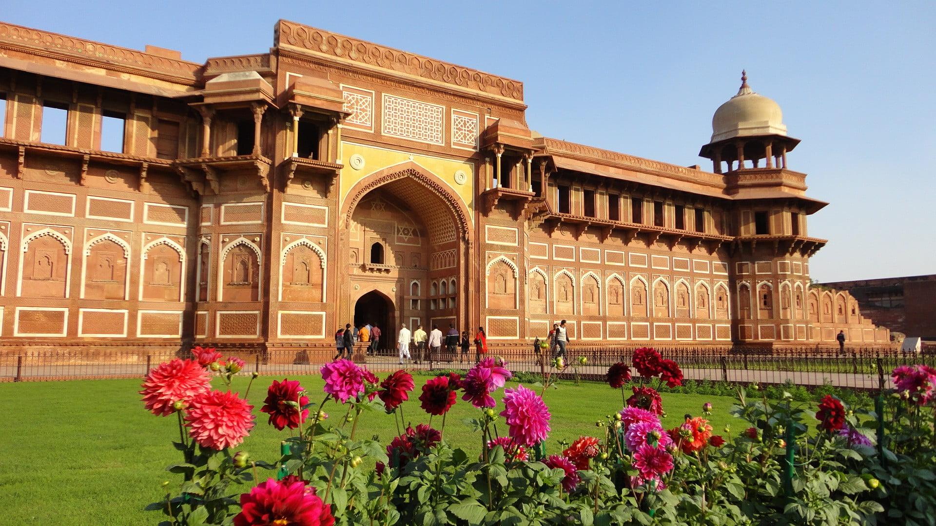 форт Агры, дворец Джахангира